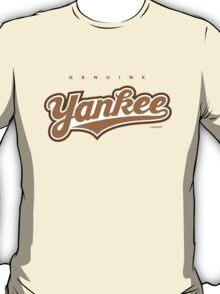 GenuineTee - Yankee (brownwhitebrown) T-Shirt