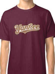 GenuineTee - Yankee (brownwhitebrown) Classic T-Shirt