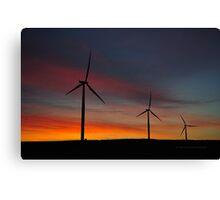 Windmill Power Canvas Print