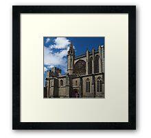 St. Nazarius, Carcassonne Framed Print