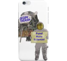 occupy the moon iPhone Case/Skin