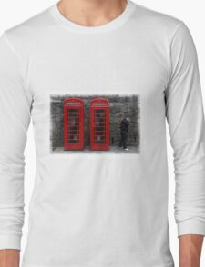 Phone Boxes Long Sleeve T-Shirt