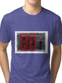Phone Boxes Tri-blend T-Shirt