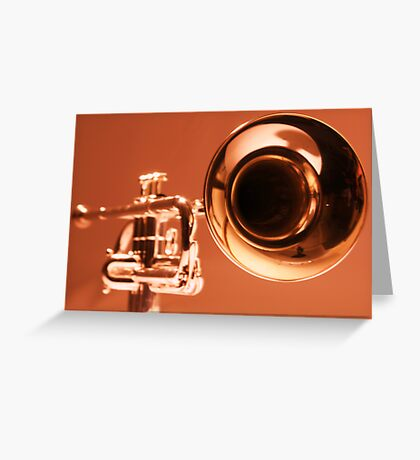 Solid Gold Greeting Card