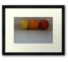 Trios Framed Print