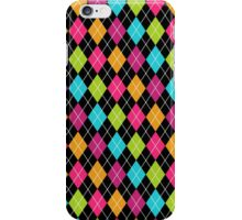 Colorful Argyle iPhone Case/Skin
