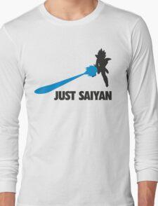Just Saiyan T-shirt  Long Sleeve T-Shirt