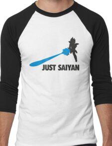 Just Saiyan T-shirt  Men's Baseball ¾ T-Shirt