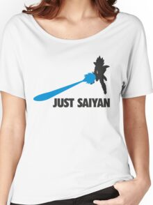 Just Saiyan T-shirt  Women's Relaxed Fit T-Shirt