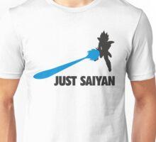 Just Saiyan T-shirt  Unisex T-Shirt