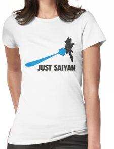 Just Saiyan T-shirt  Womens Fitted T-Shirt