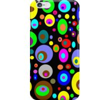 Retro Colorful Circles iPhone Case/Skin