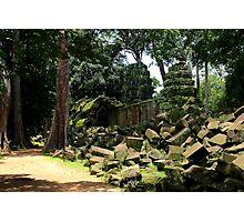 Ta Prohm Temple VII - Angkor, Cambodia. Photographic Print