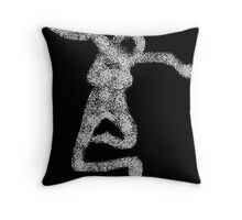 primitive - revisited 2 Throw Pillow