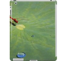 red dragonfly iPad Case/Skin