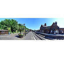 Bewdly Station, Severn Valley Railway Photographic Print