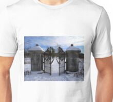 Behind the Open Gate Unisex T-Shirt