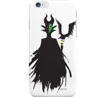 Mistress of All Evil - Maleficent iPhone Case/Skin