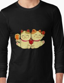 """FortuNeko - """"Toffee & Candy"""" Long Sleeve T-Shirt"""