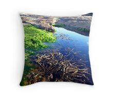 Crab's heaven Throw Pillow