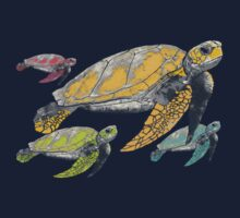 four tortugas One Piece - Long Sleeve
