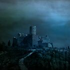 Castle of Vlad by Luchare