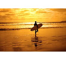 California Surfer Photographic Print