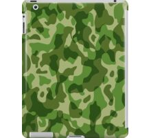Green Camouflage Army Military Pattern iPad Case/Skin