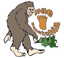 Gone Squatchin Bigfoot Photographic Print