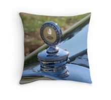 Ford Model A Radiator Cap by Boyce MotoMeter Throw Pillow