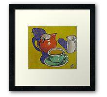 Tea for One Framed Print