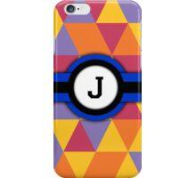 Monogram J iPhone Case/Skin