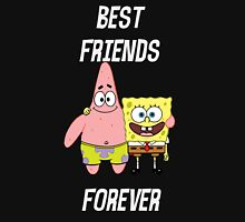 Patrick & Spongebob best friends forever [white text] Unisex T-Shirt