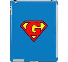 Super G iPad Case/Skin