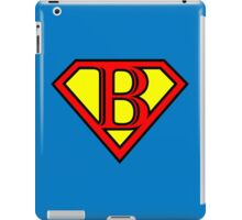 Super B iPad Case/Skin