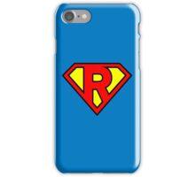 Super R iPhone Case/Skin