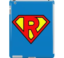 Super R iPad Case/Skin