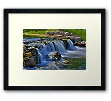 Waterfall 10 Framed Print