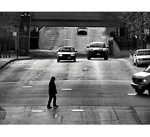 Trapped on the Street Photographic Print