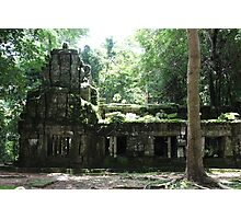 Ta Prohm Temple VIII - Angkor, Cambodia. Photographic Print