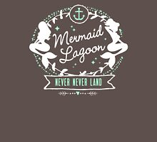 Mermaid Lagoon // Never Land // Peter Pan Womens Fitted T-Shirt