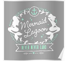 Mermaid Lagoon // Never Land // Peter Pan Poster