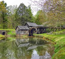 Mabry Mill by Fraser Musson