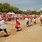 Tug-of-War, Mindil Beach, Darwin by Adrian Paul