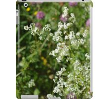 White Flowers iPad Case/Skin