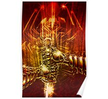 Samurai Swordstroke Poster
