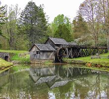 Mabry Mill, Blue Ridge Parkway by Fraser Musson