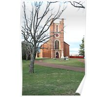 Anglican Church of St Luke - Campbell Town, Tasmania Poster