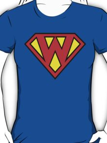 Superman Superboy Super W T-Shirt