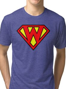 Super W Tri-blend T-Shirt